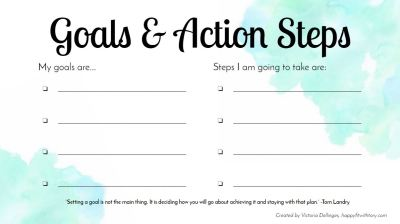 Goals&ActionSteps